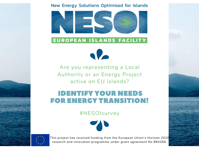 EU islands: Identify your energy transition needs in the survey