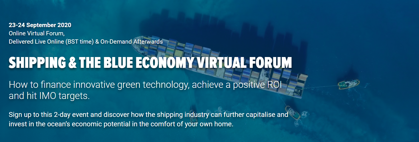 Shipping & the Blue Economy Virtual Forum