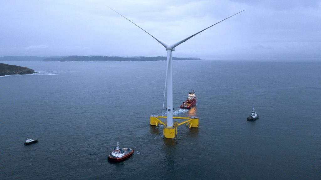 WindFloat Atlantic Launch